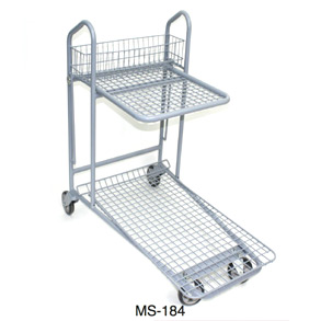 Garden centre carts with wheel MS-184