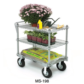 Garden centre carts with wheel MS-198