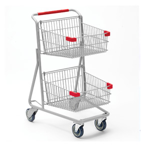 Garden centre carts with wheel MS-326-2