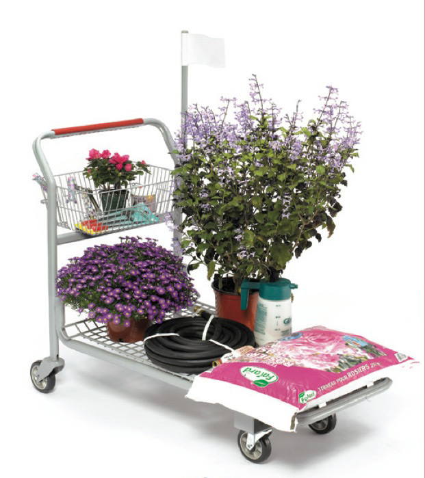 Garden centre carts with wheel MS-84