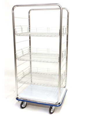 open case cart hospital TOC-2428-2